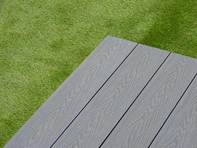 evergrain ultimate grey solid composite decking 140mm x 21mm